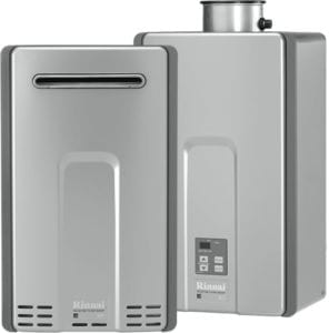 Two Tankless water heaters