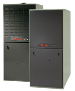 Trane Gas furnaces side by side