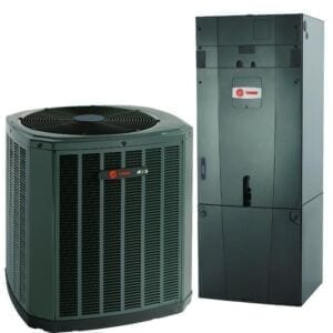 Trane Heat Pump and Furnace Heating and Cooling